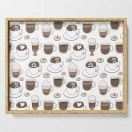 Coffee Cups Serving Tray