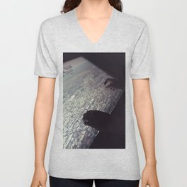 view from the top Unisex V-Neck