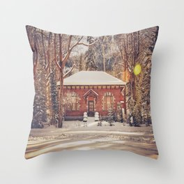Peaceful Living Throw Pillow