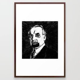 29. Zombie Warren G. Harding  Framed Art Print