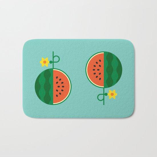 Fruit: Watermelon Bath Mat