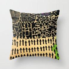 africa 2 Throw Pillow
