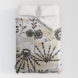 catching the breeze Duvet Cover