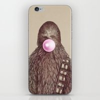 helen iPhone & iPod Skins featuring Big Chew by Eric Fan