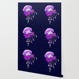 Ruffled Jellyfish Wallpaper