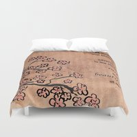 mulan Duvet Covers featuring mulan  quote by studiomarshallarts