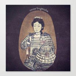 Onna-bugeisha Canvas Print