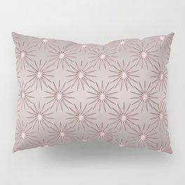 Elegant Star Pattern Rose Quartz Pillow Sham