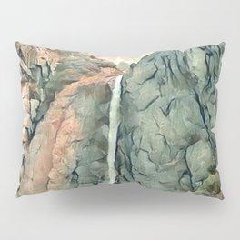 Yosemite Waterfall Pillow Sham
