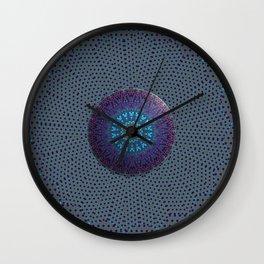 Open flower Sunday Mandala 5 Wall Clock