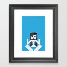 Bikini (04) Framed Art Print