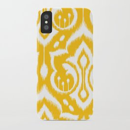 Ikat Damask iPhone Case