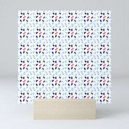 symmetric patterns 123 Mini Art Print