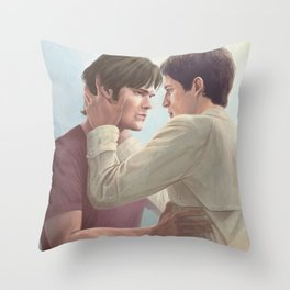 Nothing is worth losing you. Throw Pillow