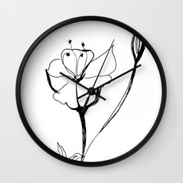 Acleisanthes wrightii Wall Clock