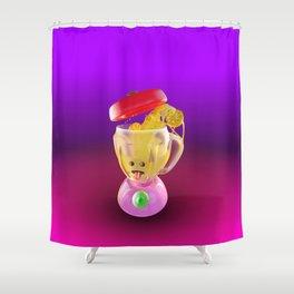 Lemmon juice Blender Shower Curtain