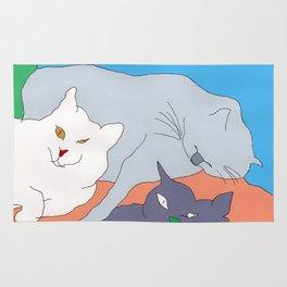 Sleeping Cats Rug