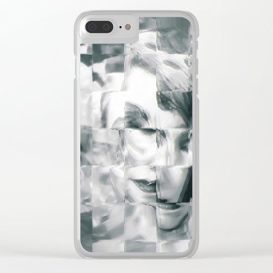 Young woman Clear iPhone Case