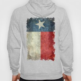 Texas state flag, vintage banner Hoody