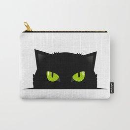 Black cat follow you #society6 #decor #buyart #artprint Carry-All Pouch
