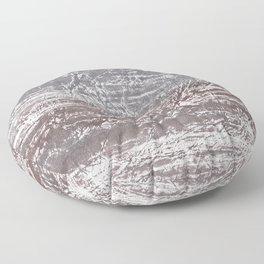Gray nebulous wash drawing Floor Pillow