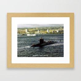 USS THOMAS A. EDISON (SSBN-610) Framed Art Print