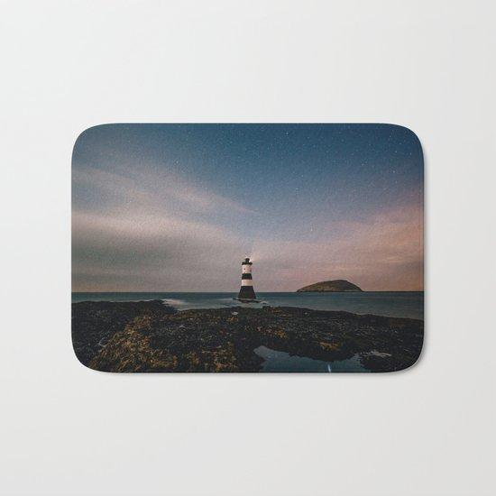 Evening Lighthouse Bath Mat
