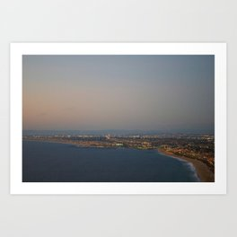 The view of the riches Art Print