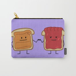 Peanut Butter and Jelly Fist Bump Carry-All Pouch