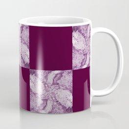Season of the Square - Magenta Check Coffee Mug