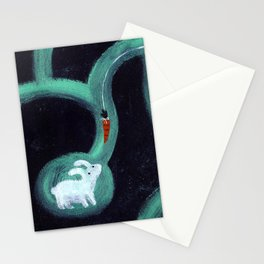Mysterious Carrot Stationery Cards