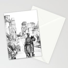Lone Tiger Rider Stationery Cards