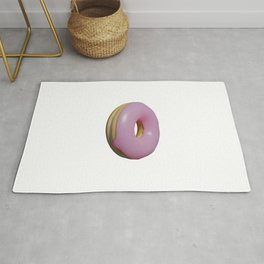 Pink Frosted Donut Rug