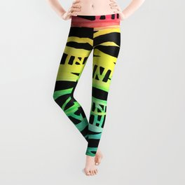 My Wild and Colorful Wish for You Leggings