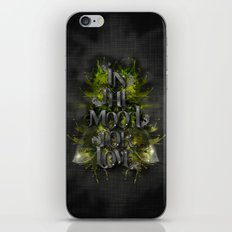 In the mood for love iPhone & iPod Skin