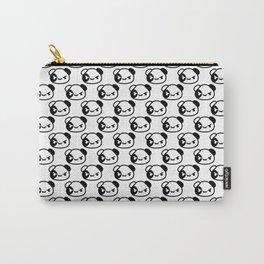Kawaii Guinea pig pattern B&W design Carry-All Pouch