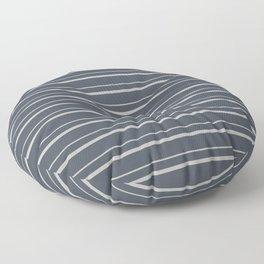 Benjamin Moore 2019 Color of the Year 2019 Metropolitan Light Gray on Hale Navy Blue Gray HC-154 Floor Pillow