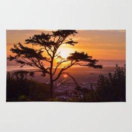 Kalaloch Beach Sunset Rug
