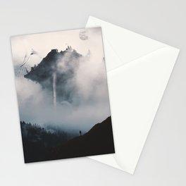 Mist-ery Island Stationery Cards