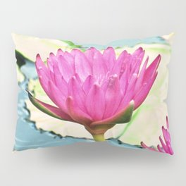 The Water Lily Pillow Sham