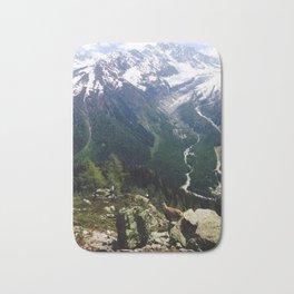 A View of Mont Blanc Bath Mat