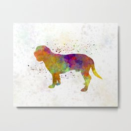 Hanoverian Scenthound in watercolor Metal Print