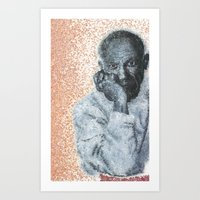 picasso Art Prints featuring Picasso by Kcliving