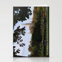vienna Stationery Cards featuring vienna volksgarten by Lisa Carpenter