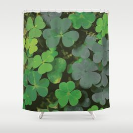 Bed of Clovers Shower Curtain