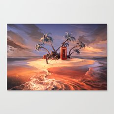 In the event of sinking Canvas Print