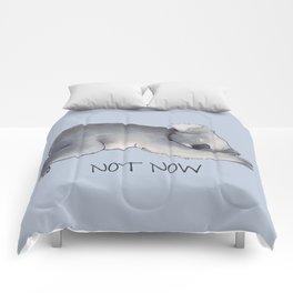 Koala Sketch - Not Now - Lazy animal Comforters