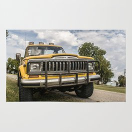 1982 Jeep used for the movie Twister Rug