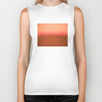 rothko Biker Tanks featuring Orange Pink - Mark Rothko by Rothko