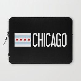 Chicago: Chicagoan Flag & Chicago Laptop Sleeve